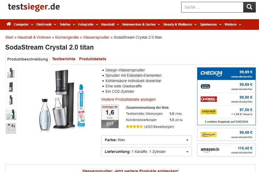 Video: Test Sodastream
